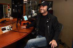 Tim McGraw visits the SiriusXM Studio