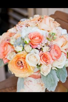 not really into the idea of roses in a bouquet but these are beautiful