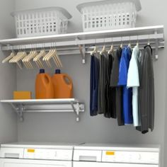"Fantastic ""laundry room storage diy cabinets"" detail is offered on our internet site. Have a look and you wont be sorry you did. Laundry Room Shelves, Laundry Room Remodel, Laundry Storage, Laundry Room Organization, Laundry Room Design, Closet Storage, Diy Storage, Small Storage, Storage Ideas"