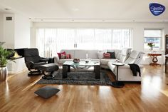 Stressless Furniture contemporary living room