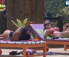 """Natália alerta Ísis: """"Eu acho que ele [Lucas] está gamado em você"""" - A Fazenda de Verão - Rede Record"""