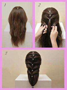 Trendy Hair Styles Trenzas Paso A Paso 43 Ideas Little Girl Hairstyles, Cute Hairstyles, Braided Hairstyles, Hairstyle Photos, Black Hairstyles, Different Braids, Pinterest Hair, Toddler Hair, Hair Designs
