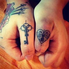 Skeleton Key Tattoo