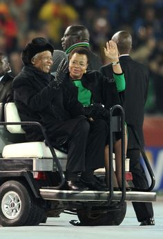 Madiba an Graca... A beautiful union