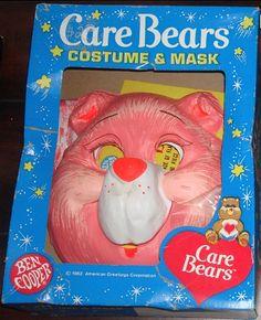 one of my earliest halloween costumes. care bears