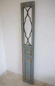 A Fabulous Large Distressed Panel Mirror