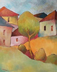 J. Mayes'_Tree_on_a_Suburban_Rise_OST_51x40_1_
