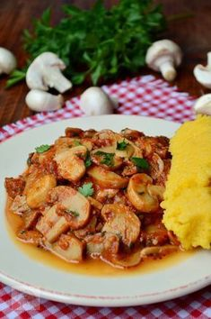 Italian Recipes, New Recipes, Vegan Recipes, Cooking Recipes, Mushroom Recipes, Vegetable Recipes, Romanian Food, Romanian Recipes, Good Food