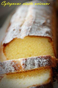 Cytrynowe ciasto ucierane – kulinarna piniata – fotografia jedzenia, fotograficzny blog kulinarny, przepisy kulinarne ze zdjęciami,