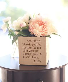Love this 'Rooting for Me' Unfinished Personalized Planter Box by Morgann Hill Designs on #zulily! #zulilyfinds