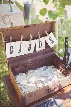 wedding card ideas   VIA #WEDDINGPINS.NET