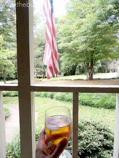 Enjoying Bigelow #IcedTea on the Front Porch