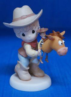 Woody Bullseye Stick Horse Toy Story Figurine Disney Precious Moments 920003 | eBay