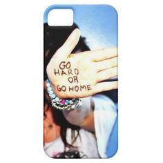 Go Hard Or Go Home Iphone 5 Case