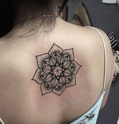 mandala tattoo dos