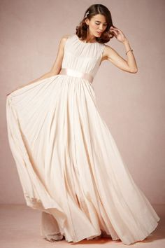 This would be perfect. The most breath taking dress I've yet to see! Designer Peter Som for BHLDN