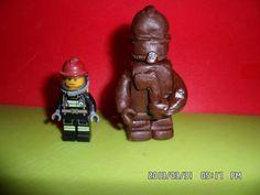 Lego tűzoltó csokiból