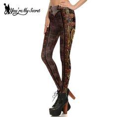 fde04423fca782 2018 Christmas Printing Leggings Put Hip Elastic High Waist Legging ...