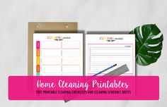 FREE Home Cleaning Printables!