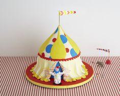 Circus Tent Cake How-To