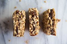 Chewy chocolate date caramel stuffed granola bars