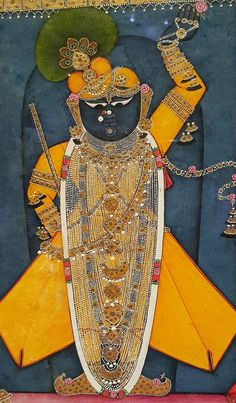 .Krishna is Shrinathji from Nathdwara.