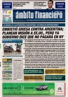 OpinionPublicaSantafesina(ops): diarios de argentina hoy