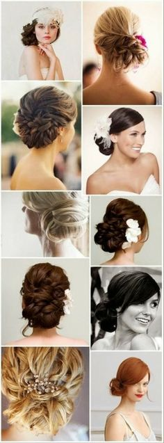 Vintage Wedding Hairstyle 2014 For Women