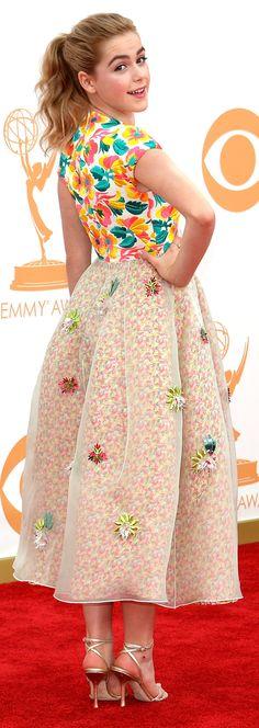 Coloridas! Confira os looks alegres das estrelas de séries na premiação do Emmy - http://epoca.globo.com/vida/fotos/2013/09/coloridas-confira-os-blooks-alegresb-das-estrelas-de-series-na-premiacao-do-emmy.html (Foto: Kevork Djansezian/Getty Images)