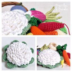 Le chou-fleur, tuto gratuit! http://broutillesetbabioles.over-blog.com