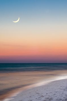 Summer beach scene just after sunset by Robert Hainer