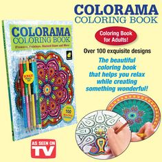 Adult Coloring books a great way to undwind