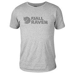 97e864a11af718 FJÄLLRÄVEN Logo Shortsleeve Shirt Men grey Size S 2019 shortsleeve tshirt