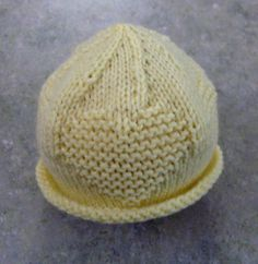 baby heart hat. click link for pattern