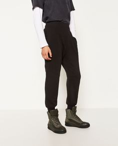 ZARA - SALE - PLUSH TROUSERS