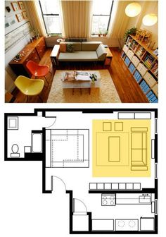 Small Space Seating Arrangements