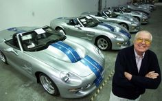 Carroll Shelby dead at Legendary racer & designer of Shelby Cobra & Ford Mustang Shelby RIP Shelby Gt500, Mustang Shelby, Shelby Car, Ford Mustang, Ford Gt40, Carroll Shelby, Motogp, Performance Cars, Cristiano