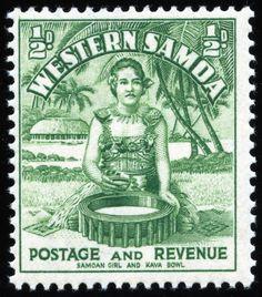 Western Samoa Islands | King George VI Postage Stamps