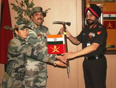 """"""" Women Officers mountaineering expedition to consisting of nine women officers was flagged off by Director General of Military Training today. The expedition will be conducted from 14 May- 11 Jun Field Marshal, East India Company, Military Training, Indian Army, British Indian, Five Star, Armed Forces, Presidents, Mountaineering"""