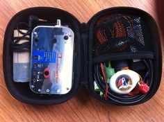 """Minimalist """"Mountain Topper Radio"""" (MTR) 2-band QRP  5-watt HF transceiver designed and kitted by Steve Weber (KD1JV) fits in an Altoids tin. Package here with antenna (EFHW) paddles and battery. weighs less than a pound! #QRP ham Radio"""