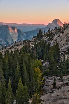 At the End of the Day - Olmstead Point, Yosemite National Park, CA. Photo: ~Mashuto