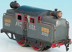 Doll Locomotive NYCHRR 20 volt railcar A4