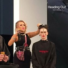 @kyalicious on Main Stage @HairExpo during the @caterinadibiase and @thehairbender's presentation of Heading Out Hair & Beauty's FUSION & The CRUDA FIGURA collections.  Photo Credit: Stella Park  #hairexpo2016 #hairexpo #ahfaaustralianhairdresseroftheyear #headingoutacademy #hohb_aus #caterinadibiase #melbournehairdresser #avantgardehair #hairart #hairinspiration #saloneducation