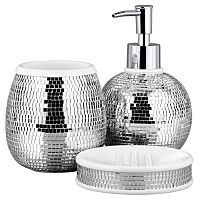 Bathroom Range   Disco Ball   Bathroom Accessories   ASDA directbella lux mirrored rhinestone bathroom accessories dispenser  . Rhinestone Bathroom Accessories. Home Design Ideas