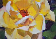 Carol Marine's Painting a Day: Dog Eared Rose