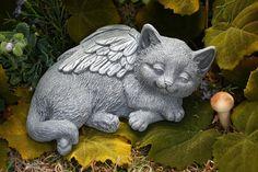 Cat Angel  Sweet Dreams at The Rainbow Bridge by PhenomeGNOME, $54.99