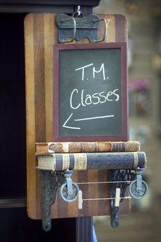 Treasured Memories Store: Clip Board Shelf