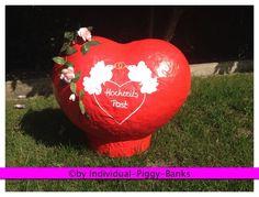 Herz XXL Hochzeitspost Briefbox Kartenbox Umschlagbox Geldgeschenke Hochzeit BOX