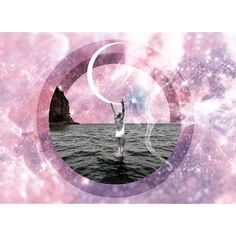 Affirmation Cards, My Themes, Visionary Art, Moon Art, New Moon, Trippy, Cosmic, Collage, Graphic Design