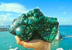 Massive Natural Malachite Healing Stone by BenitoArvizo on Etsy, $169.00